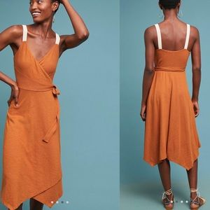 Anthropologie Wrapped Dress NWT